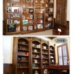 Bookcase Before & After