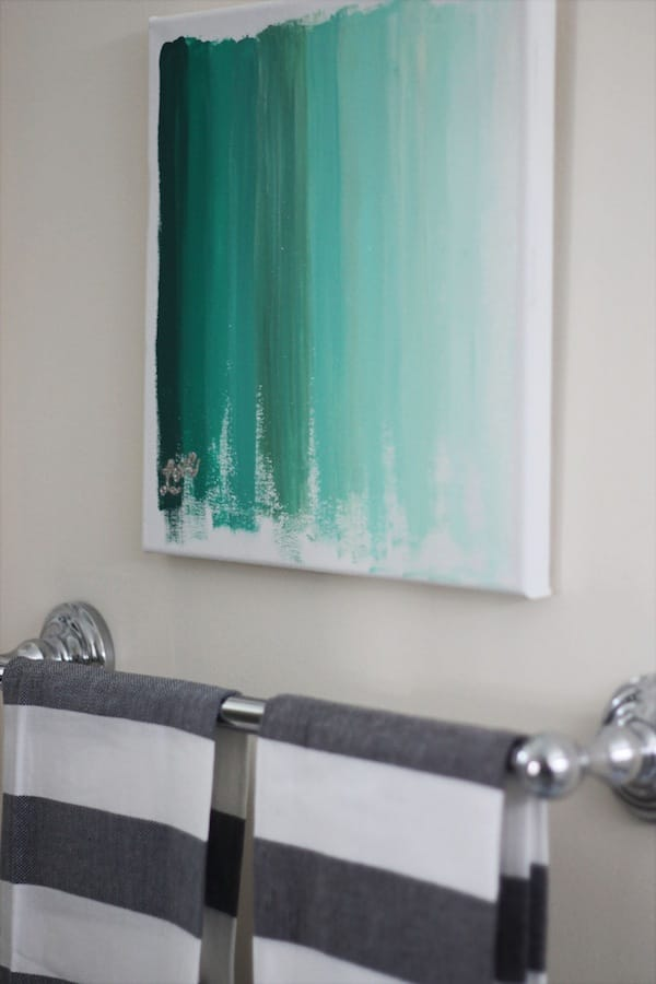 Turquoise wall decor