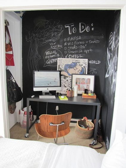 Chalk it up cool ideas for using chalkboard paint megan for Wohnungsideen