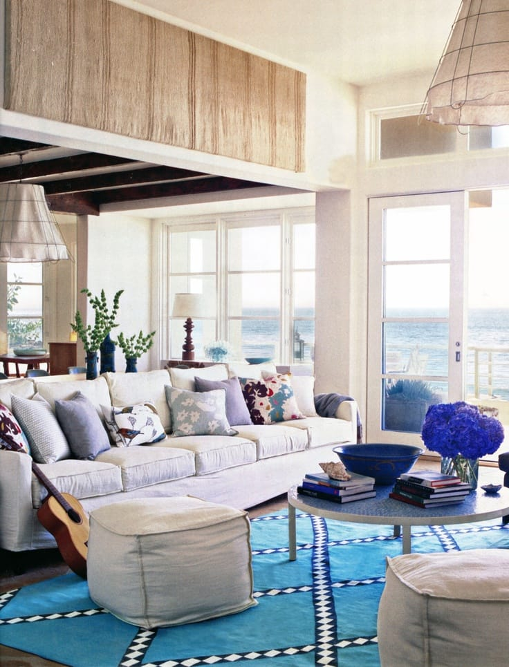 coastal pictures for living room. Another bold and quirky approach for a coastal living room  10 Inspiring Ideas Coastal Living Room Megan Morris
