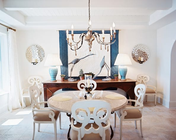 Spring is in the air ideas for decorating with pastels for Pastel dining room ideas