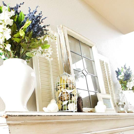 Giving Your Mantel A Fresh Look With Spring Decor