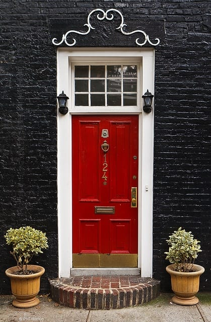 Red Front Doors. A red front door  First Impressions The Importance of the Front Door Megan Morris
