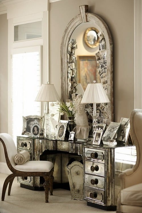 Mirrored Surfaces Are A Huge Feature Of Art Deco Interior Design As