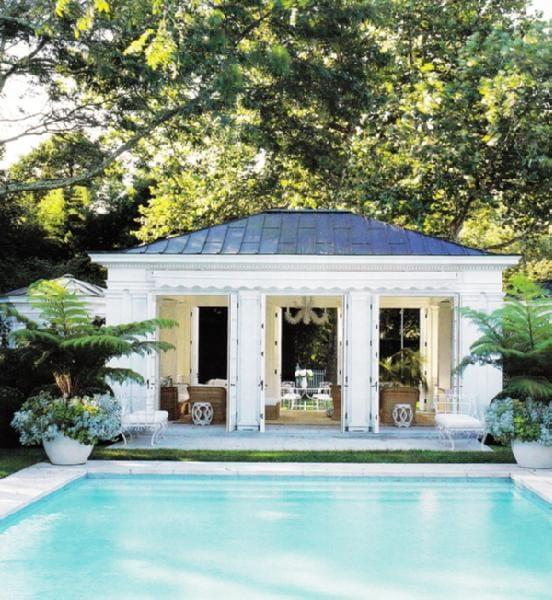 10 Great Ideas For A Pool Area Oasis Megan Morris