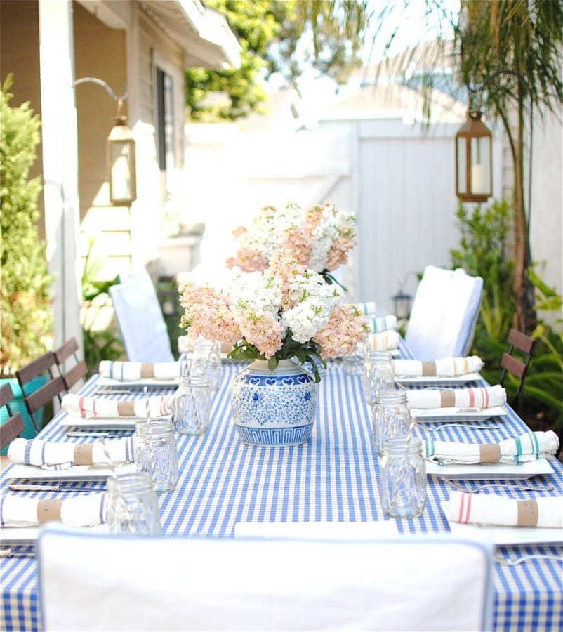 setting the perfect summer table - megan morris