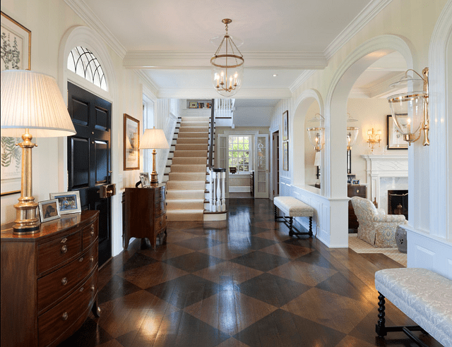 Foyers entryway ideas that invite you in megan morris - Lighting ideas for halls and foyers ...