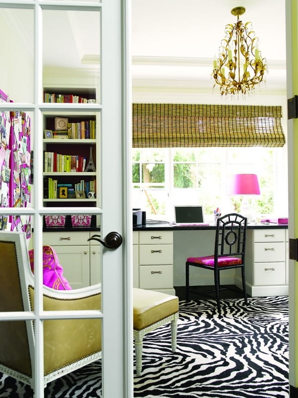 ... feminine home office. For ...