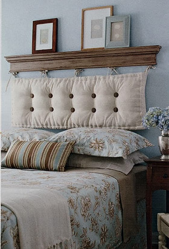 Creative stylish headboard solutions megan morris - Fabriquer tete de lit medium ...