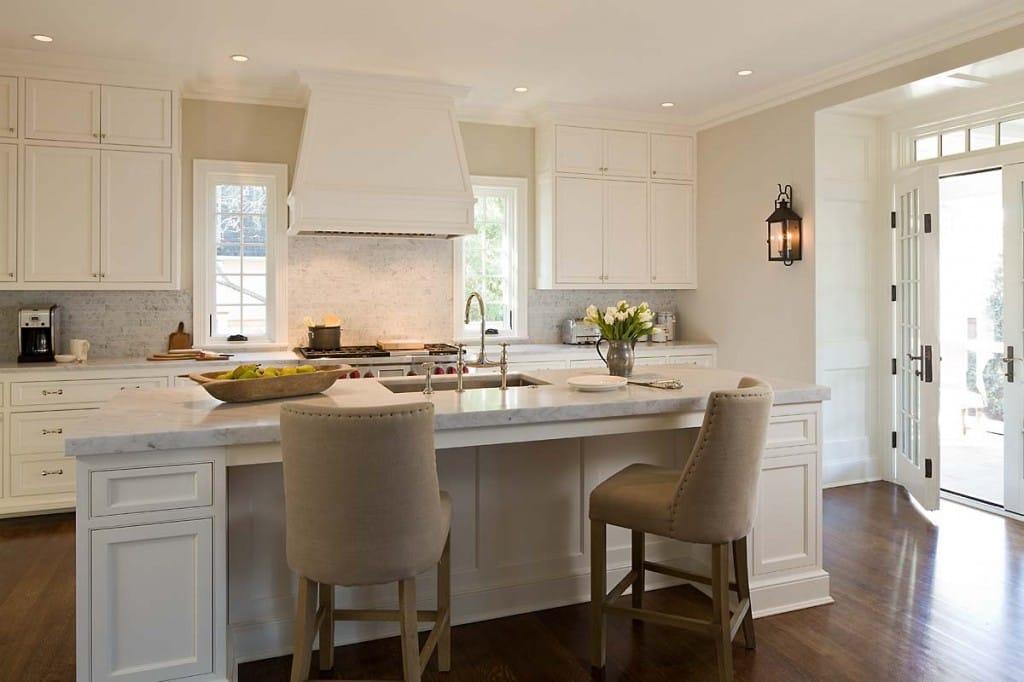 10 Beautiful All White Kitchens Megan Morris