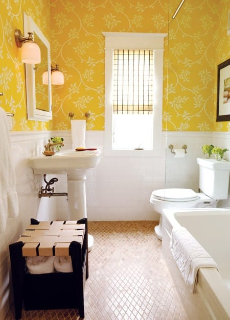 yellow bathroom ideas. 20 yellow bathroom designs decorating ideas