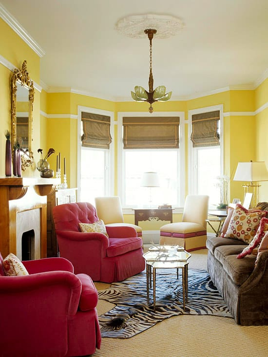 Exceptional Yellow And Red Bedroom Decorating Ideas Part - 6: Yellow ...