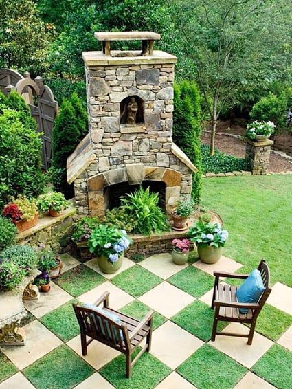 backyard art: modern landscape architecture - megan morris - Patio Landscape Architecture