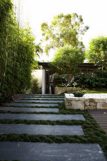 Backyard art modern landscape architecture megan morris for Modern backyard landscaping