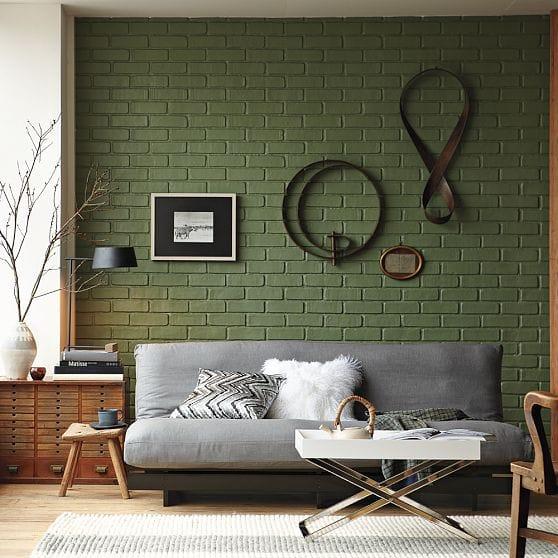character charm interior exposed brick walls megan morris. Black Bedroom Furniture Sets. Home Design Ideas