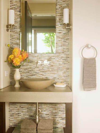 10 Stylish Glass Tiled Bathrooms Megan Morris