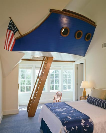 Little boy nautical bedroom