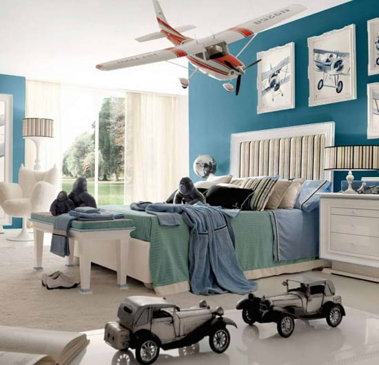 if your little boy dreams of being an aviator he ll love a bedroom