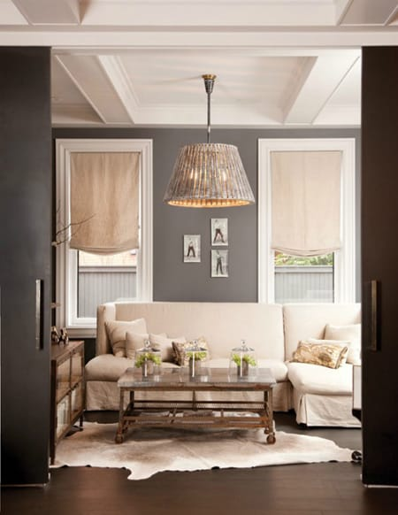 Ask A Decorator Choosing Wall Color For Dark Wood