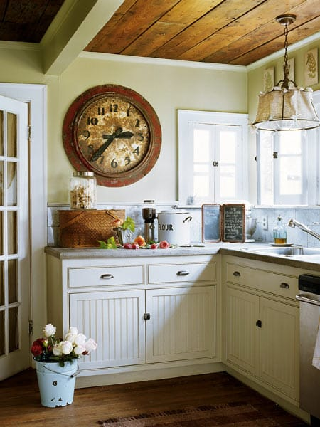 How to add character with beadboard megan morris for Add beadboard to kitchen cabinets