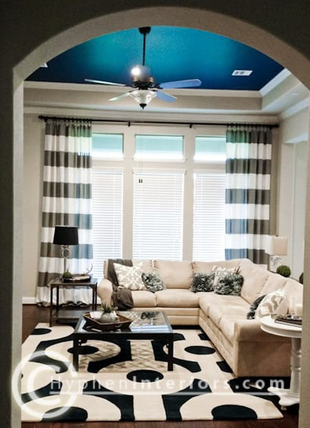 Ask A Decorator Curtains Or Blinds For Window Treatments Megan - Curtains and blinds together