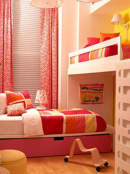 Ask a decorator shared bedroom ideas for girls megan morris for Bedroom ideas for girls sharing a room