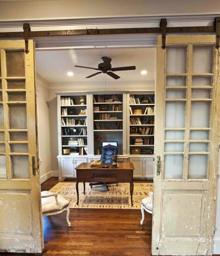 Ask A Decorator Home Office French Doors Megan Morris