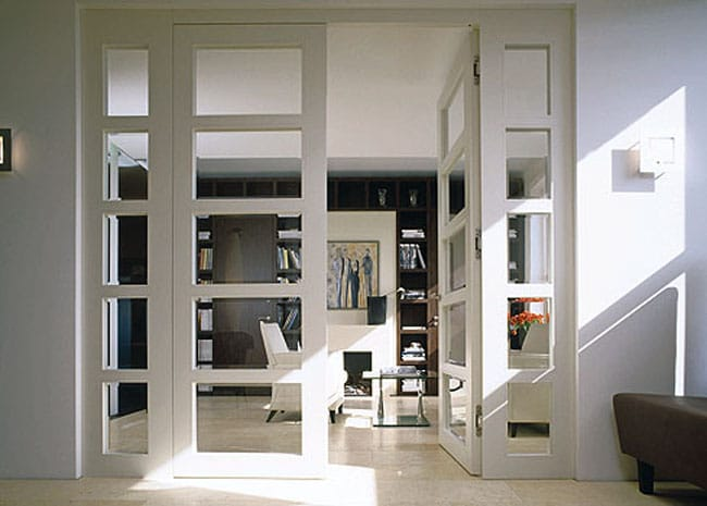Ask a decorator home office french doors megan morris - Interior french doors for office ...
