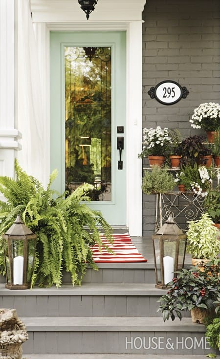 Making the Most of Your House Numbers | HomeandEventStyling.com