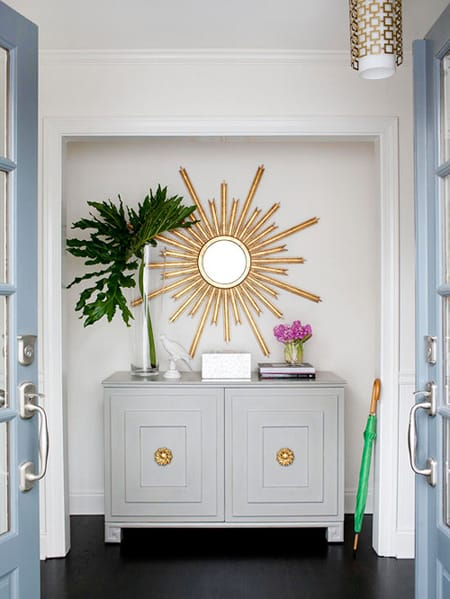 Staging an Entryway for a Great First Impression   HomeandEventStyling.com
