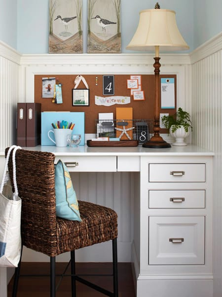 10 Ideas for a Built-In Desk | HomeandEventStyling.com