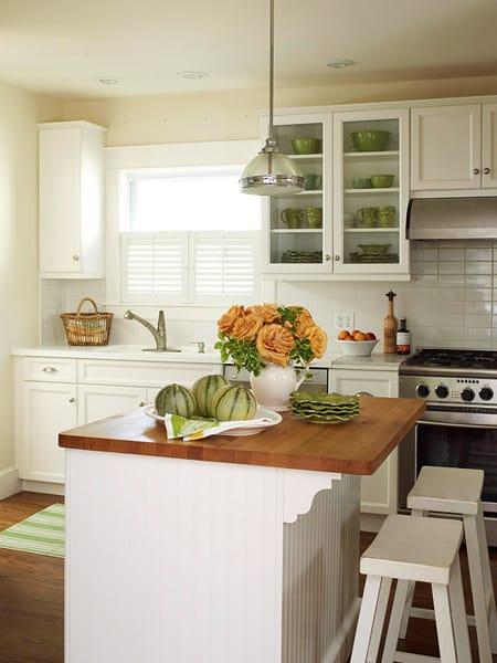 Kitchens With Butcher Block Countertops Megan Morris