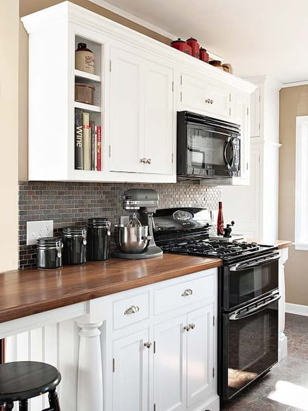 Kitchens with Butcher Block Countertops Megan Morris