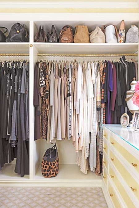 One of the easiest (and completely FREE) ways to make your closet look ...
