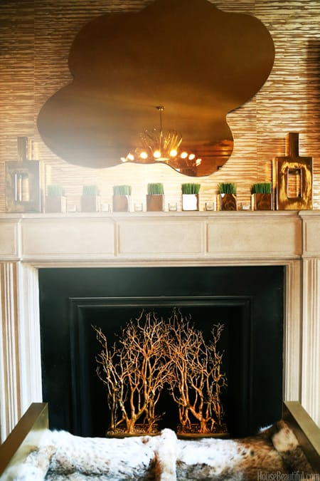 Decor Alternatives for an Unused Fireplace | HomeandEventStyling.com