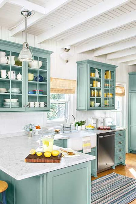 Charming Low Cost, Easy Kitchen Updates | HomeandEventStyling.com