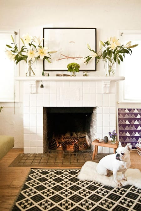 Fireplace Mantel Decorating Ideas | HomeandEventStyling.com
