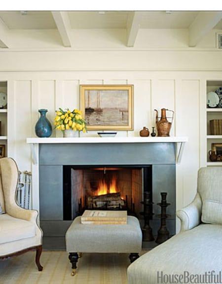 Fireplace Mantel Decorating Ideas - Megan Morris