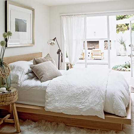 white linens are simple crisp and clean and will remind buyers of
