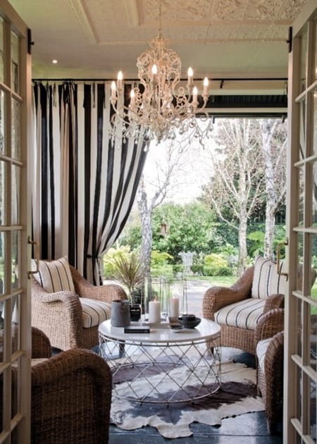 Outdoor Chandeliers Glamorous & Unexpected