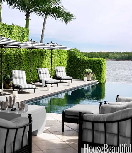 Pool Area Decorating & Staging Ideas | HomeandEventStyling.com