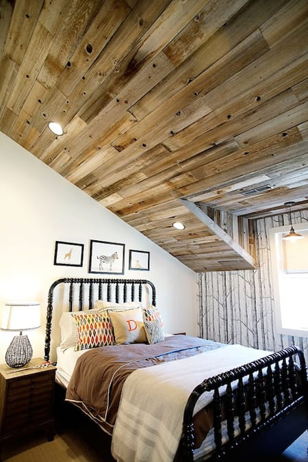 Making the Most of Slanted Ceilings - Megan Morris