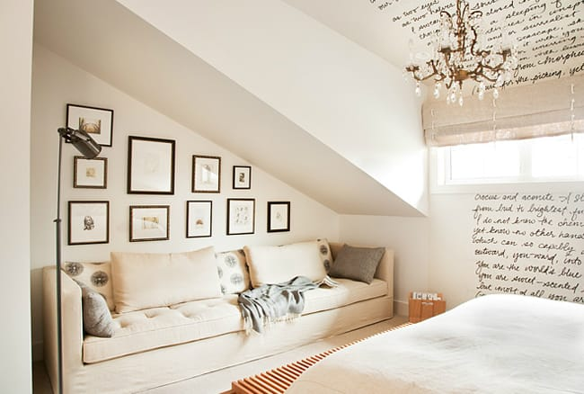 Making the Most of Slanted Ceilings | HomeandEventStyling.com