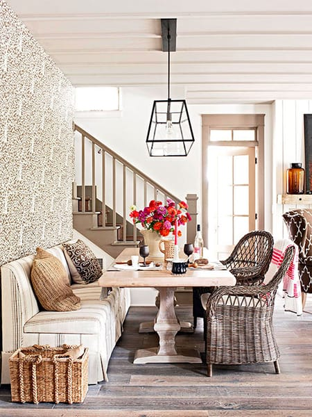 Dining Room Banquettes Space Saving Charming