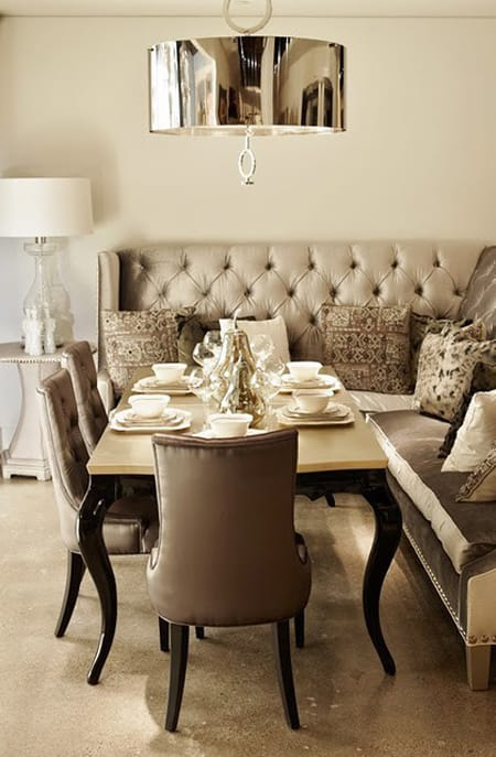 Dining Room Banquettes Space Saving Charming HomeandEventStyling