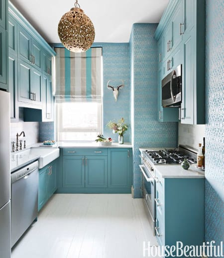 Beautiful Kitchens With Blue Cabinets