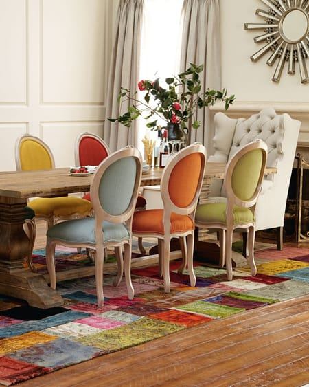 Going Bold with Colorful Dining Rooms | HomeandEventStyling.com