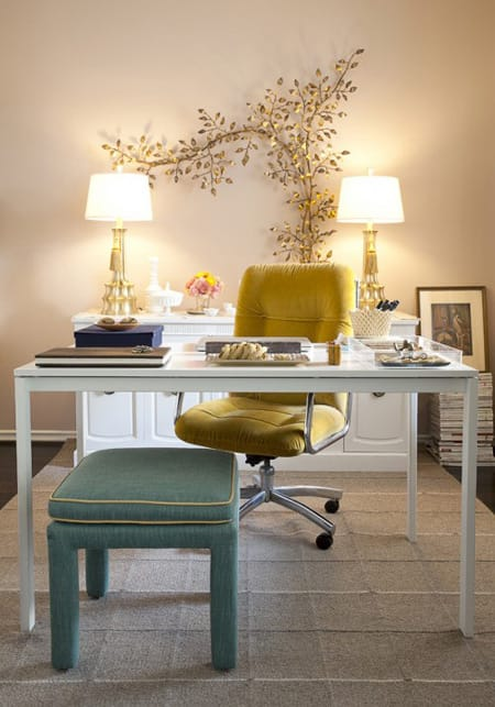 10 Home Office Decorating Ideas | HomeandEventStyling.com