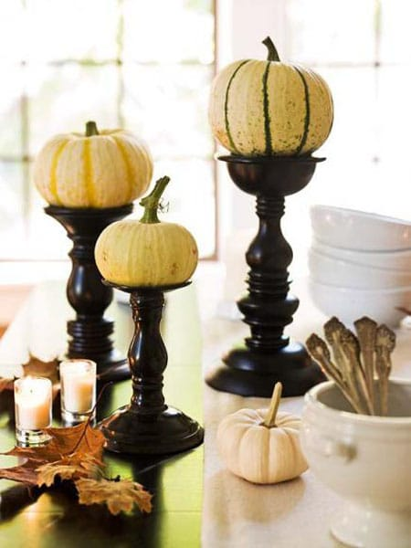 10 DIY Fall Centerpiece Ideas | HomeandEventStyling.com