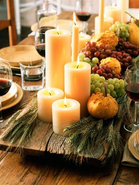 10 DIY Fall Centerpiece Ideas | HomeandEventStyling.com